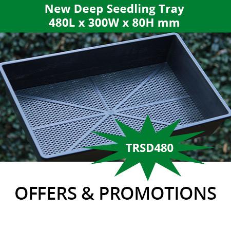 GCP's New Deep Seedling Tray