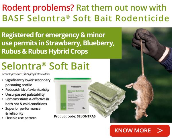 BASF Selontra® Soft Bait Rodenticide