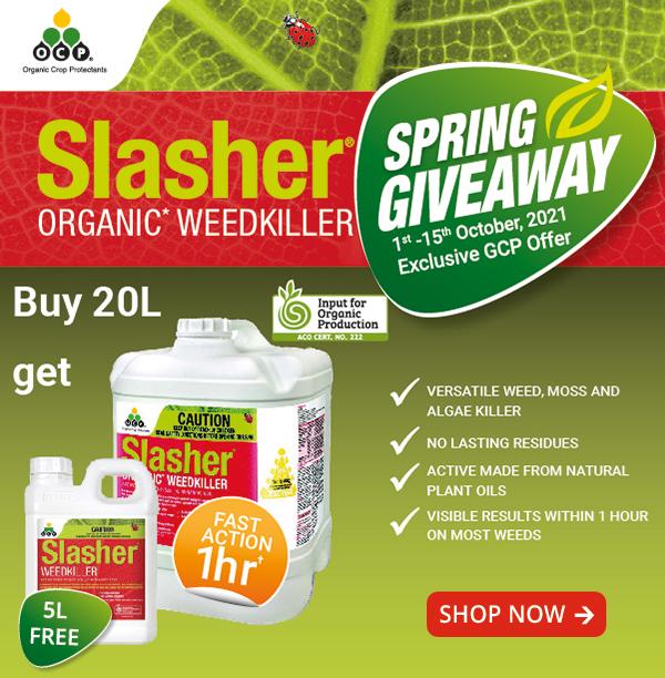 Slasher Buy 20L get 5L FREE